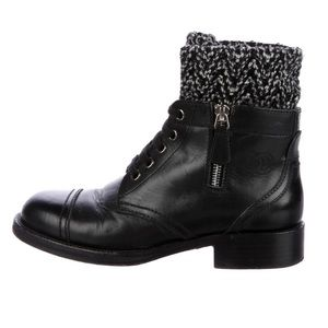 Chanel size 6 boots